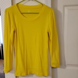3 for $15! Gap Yellow Supersoft Tee